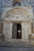 Church La Collegiata di San Quirico D'Orcia,Tuscany — Stock Photo
