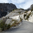 The Marble Quarries - Apuan Alps — Stockfoto