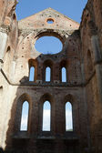 Abbey of San Galgano, Tuscany, Italy — Stock Photo