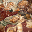 Pisa, Camposanto, Triumph of Death, detail, fresco, Buonamico Buffalma — Stock Photo #8120484