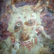 Detail of evil -eating monster in hell — Foto Stock #8121175
