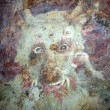 Stok fotoğraf: Detail of evil -eating monster in hell