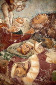 Pisa, Camposanto, The Triumph of Death, detail, fresco, Buonamico Buffalma — Stockfoto