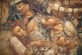 Pisa, Camposanto, The Triumph of Death, detail, fresco,alma — Stock Photo
