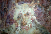 Detail of evil -eating monster in hell — Stock Photo