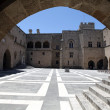The Palace of the Grand Master of the Knights of Rhodes — 图库照片