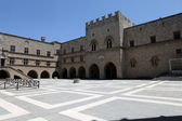 The Palace of the Grand Master of the Knights of Rhodes — Stock Photo