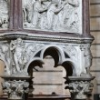 Stock Photo: Pulpit by NicolPisano in baptistery of Pisa
