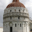 Pisa - Baptistry of St. John in the Piazza dei Miracoli - Stockfoto