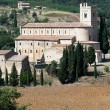 Stock Photo: Sant Antimo Abbey near Montalcino in Tuscany, Italy