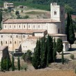 Sant Antimo Abbey near Montalcino in Tuscany, Italy — Stock Photo
