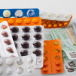 Stock Photo: Expensive medicines