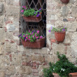 Monticchiello - Medieval village near Pienza . Tuscany. — Stock Photo