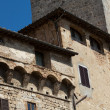 San Gimignano-  small walled medieval hill town in the Tuscany — Stockfoto
