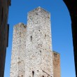 San Gimignano-  small walled medieval hill town in the Tuscany — Lizenzfreies Foto