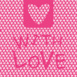 Royalty-Free Stock Imagen vectorial: With love