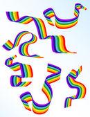 Abstrakte Regenbogen — Stockvektor