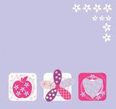 Card — Stock Vector