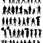 Vector silhouettes — Stock Vector #10093645