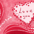 Card with love — Foto de Stock