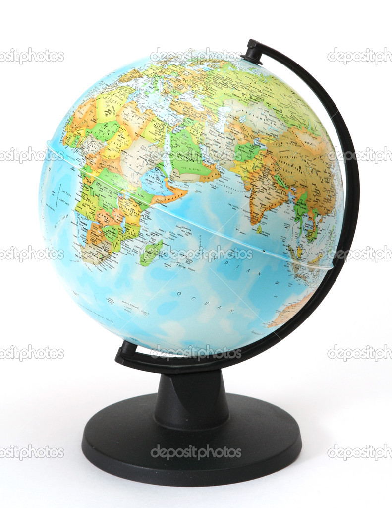 Isolated globe on white background — Stock Photo #8265308