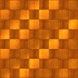 Inlaid Wood Checkerboard Floor Seamless — Stock Photo