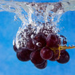 Fruits in water — Stock Photo
