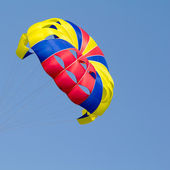Colorful parachute — Foto Stock