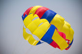 Colorful parachute — Photo