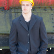 Young engineer — Stock Photo #8163155