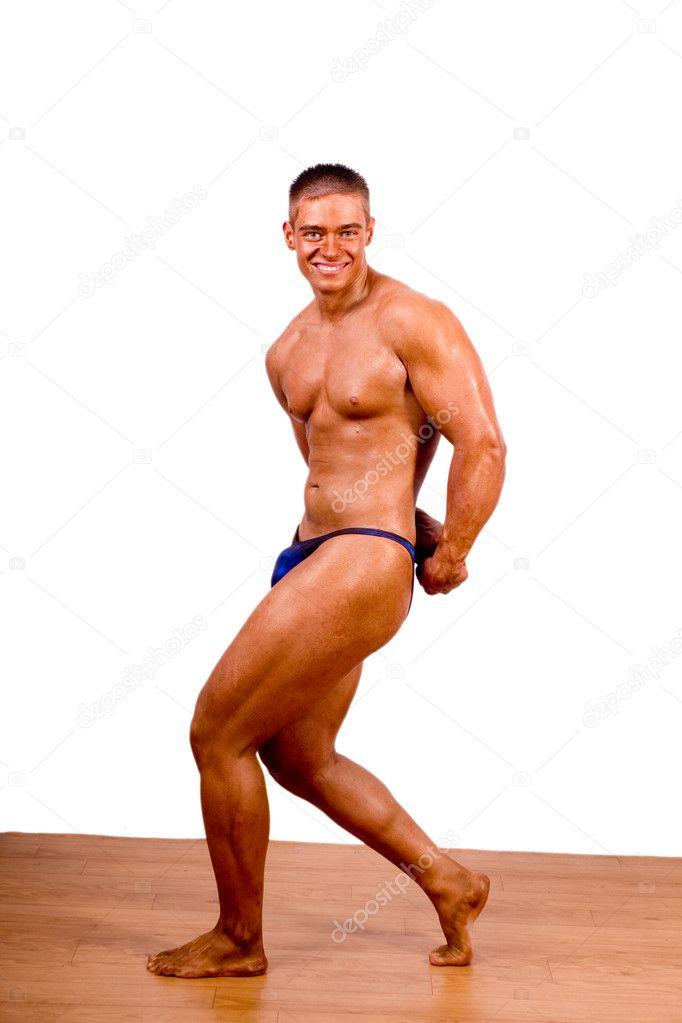 Beginner Bodybuilder — Stock Photo © csakisti #8835591