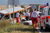 Accidente de coche — Foto de Stock