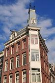 Amsterdam hem fasad — Stockfoto