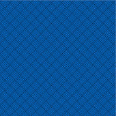 Blue geometric background, seamless pattern included — Stock Vector