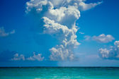 Atlantic Ocean and beautiful sky — Stock Photo