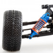 Suspension of modern radio controlled car — Stock Photo