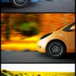 High speed car - Stock Photo