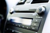 Control panel of audio player — Stock Photo
