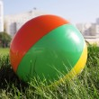Ball for outdoor games — Stock Photo #8843072