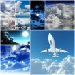 Stock Photo: Different kinds of sky