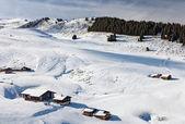 Ski slope. — Stock Photo