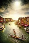 Gran canal. — Foto de Stock