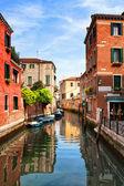 Venice. Venetian canal. — Stock Photo