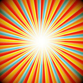 星级爆裂的抽象背景 — 图库矢量图片