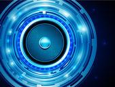 Audiospeaker Vector Design — Stock Vector