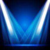 éclairage de scène de vecteur — Vecteur