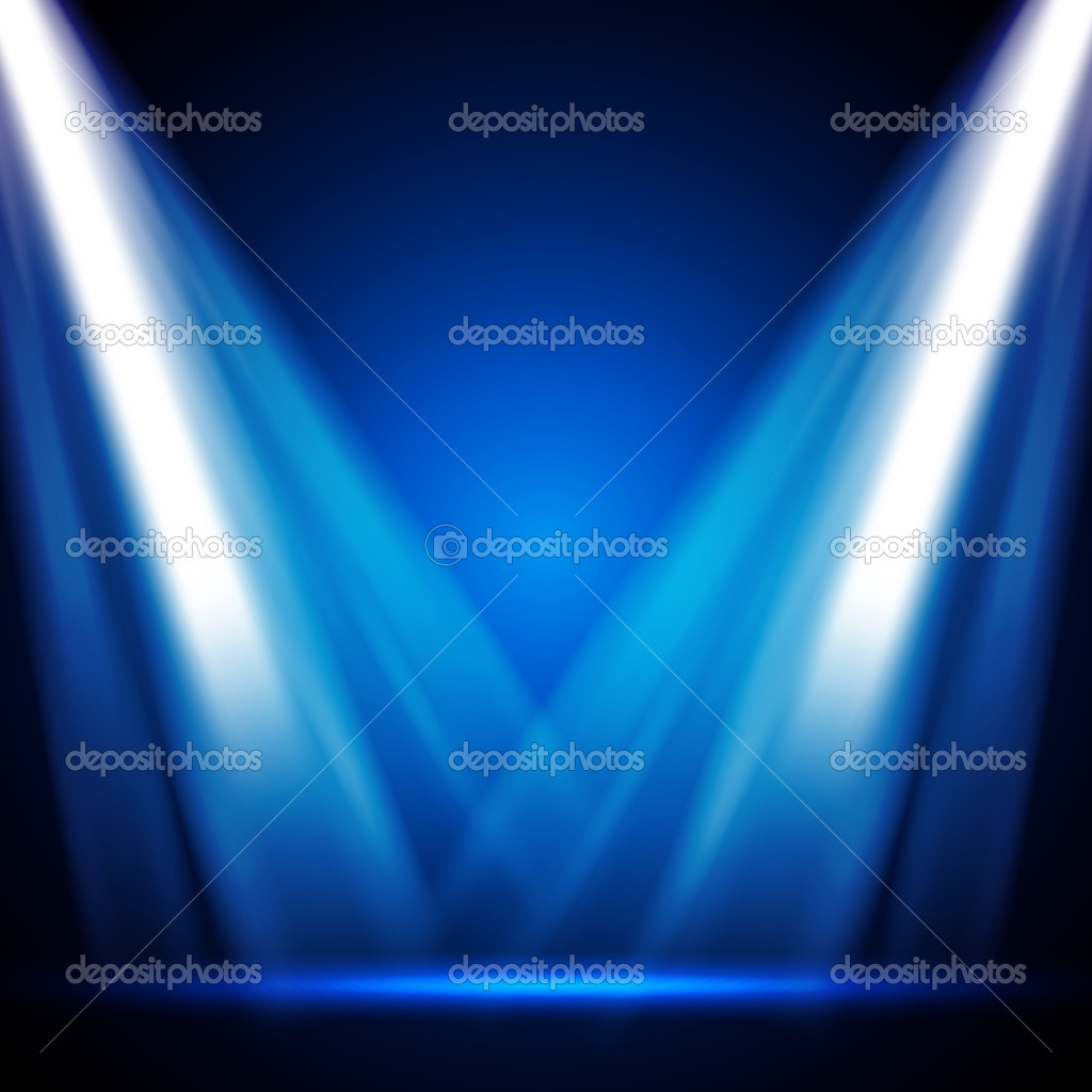 Stage Lights - EPS10 Vector Design — Stock Vector #9369713