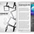 Stock Vector: Business Brochure Template