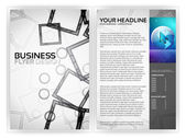 Business Brochure Template — Stock Vector