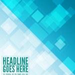Blue business flyer template — Stock Vector #9740418
